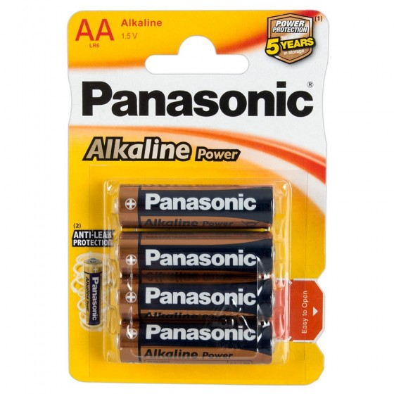 Panasonic Batterier AA